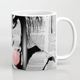 Bubble gum colorized Coffee Mug