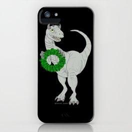 Dino made a Wreath iPhone Case