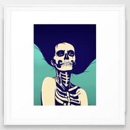 Día de las Muertas Framed Art Print