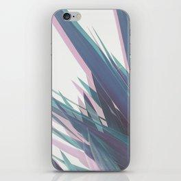 Holographic Leaves II iPhone Skin