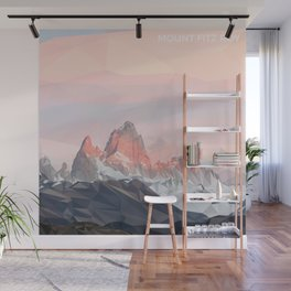 Mount Fitz Roy Wall Mural