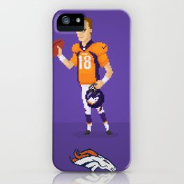 Manning The Great iPhone Case