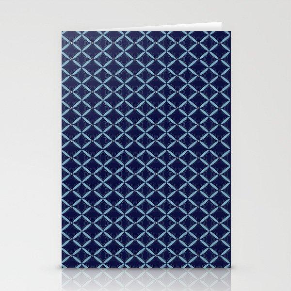 Dark Blue Web Stationery Cards
