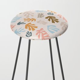Seaweeds and sand Counter Stool