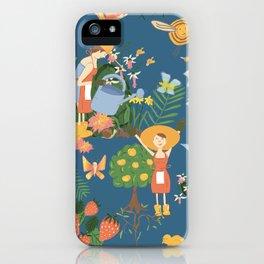 Gardening Party iPhone Case