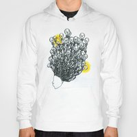 fireworks Hoodies featuring Fireworks by myesaeed
