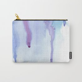 Watercolor Waterfall Carry-All Pouch