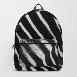 Zebra B&W Backpack