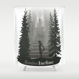 Manitou Incline Shower Curtain