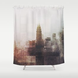 Fractions A43 Shower Curtain
