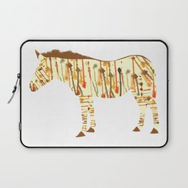 Watercolour Zebra Laptop Sleeve