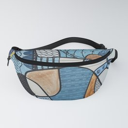 Scratched Below the Surface Fanny Pack