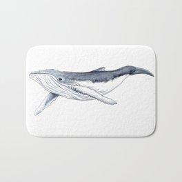 Baby humpback whale (Megaptera novaeangliae) Bath Mat