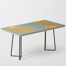 Leopard Race - blue Coffee Table