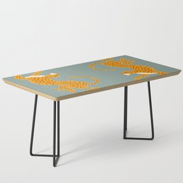 Leopard Race - blue Coffee Table