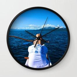 Lake Tahoe, California - Stretch Wall Clock