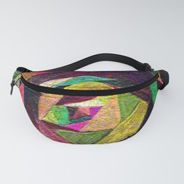 Quilted Rose Fanny Pack