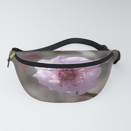Peach Flower Fanny Pack
