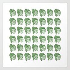 Les concombres.  Art Print