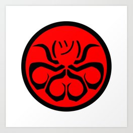 Hail Hydra, I guess Art Print