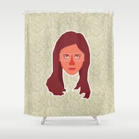 buffy Shower Curtains featuring Buffy Summers - Buffy the Vampire Slayer by Kuki