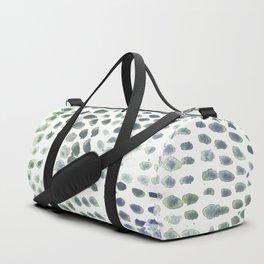 Flowing dots Duffle Bag