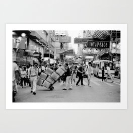 Hong Kong #53 Art Print