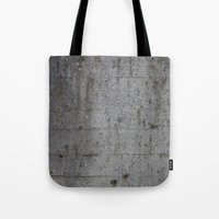 concrete Tote Bags featuring Concrete by Jeanette Nilssen