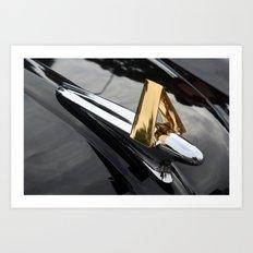 Hudson Hornet Art Print