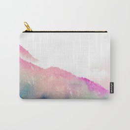 The Mountain of Happy #society6 #buyart #decor Carry-All Pouch