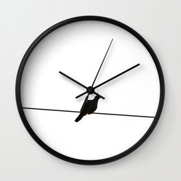 High As A Kite (Pigeon) Wall Clock