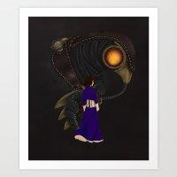 bioshock Art Prints featuring Bioshock Infinte by Shepaki