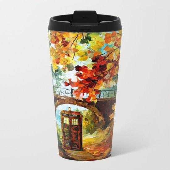 starry Abandoned phone box Under the bridge iPhone 4 4s 5 5c 6, pillow case, mugs and tshirt Metal Travel Mug
