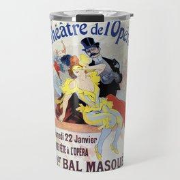 1897 Masquerade ball Paris Opera Travel Mug