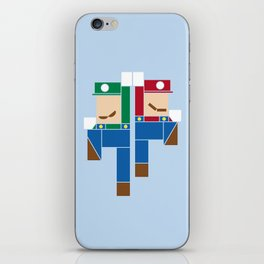 Super Bro High Five iPhone Skin