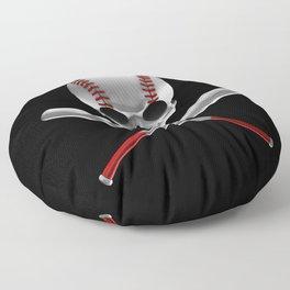 Phantom Ballplayer Floor Pillow