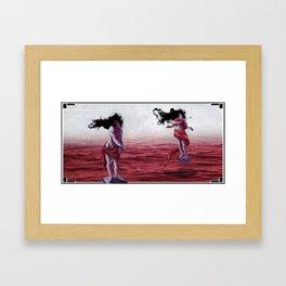 In Tow Framed Art Print