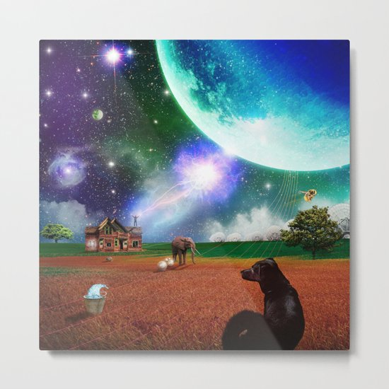 A Most Unusual Evening Metal Print