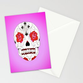Pink Ink Purple Haze Stationery Cards