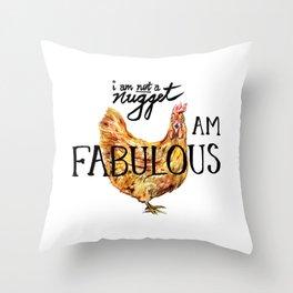 I AM FABULOUS Throw Pillow