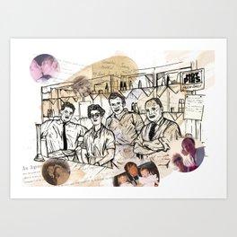 Projected Nostalgia Art Print