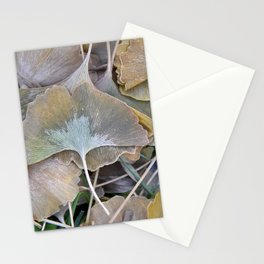 Ginko Leaves in Fall Stationery Cards