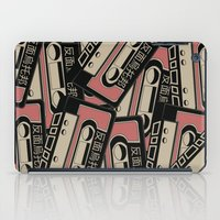 cassette iPad Cases featuring Broken Cassette by Sophie Bland