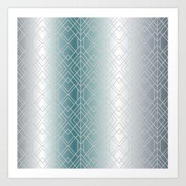Silver Decor Art Print