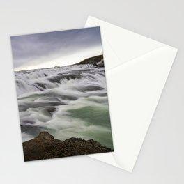 Gullfoss Waterfall, Iceland Stationery Cards