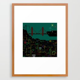 A Coded Message #2 Framed Art Print