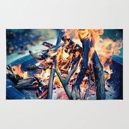 Anatomy of Fire Rug