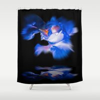 lily Shower Curtains featuring Lily  by Walter Zettl