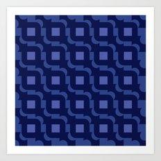 Pattern Print Edition 1 No. 9 Art Print