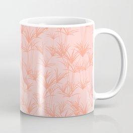 Papyrus Pond in Peachy Pink Coffee Mug